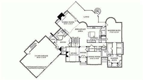 country home plans level 1 floorplans