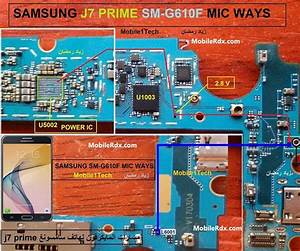 Samsung Galaxy J7 Prime G610f Mic Solution Microphone