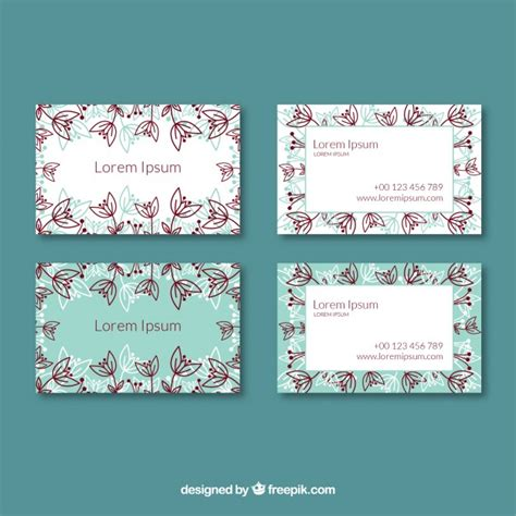 business card template  logo  vector