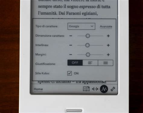 kobo touch illuminazione kobo touch e kobo glo in prova gli ebook reader mondadori