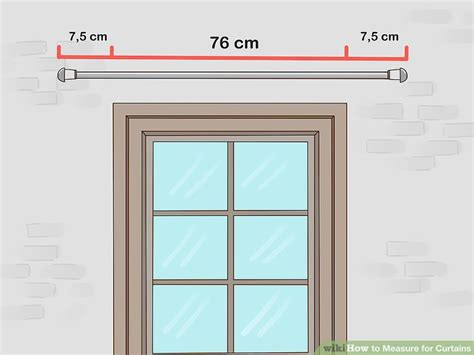 Measuring Drapes Width - 3 ways to measure for curtains wikihow