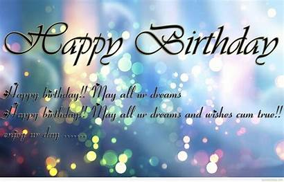 Wishes Birthday Wallpapers Happy Messages