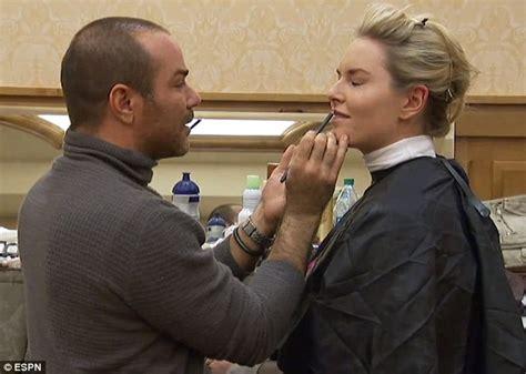 Lindsey Vonn wears tight white dress to recreate Sharon ...
