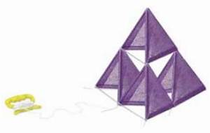 education world renewable resources tetrahedron kite With tetrahedron kite template
