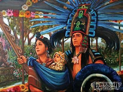 Ortega Aztec Artist Ricardo Mexican Lowrider Paintings