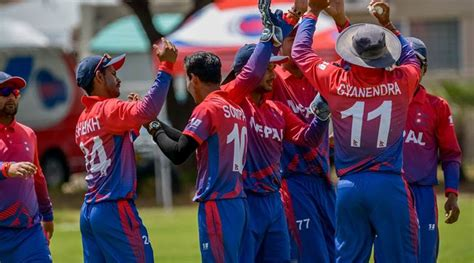 china bowled    nepal chase  total