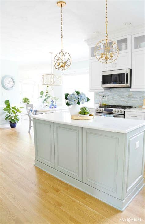 summer coastal kitchen kitchen remodel kitchen redo
