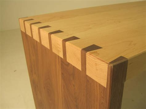 sofa side table  contrasting maple  american black