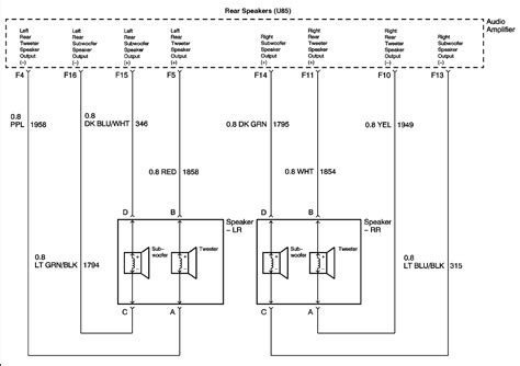 Looking For Wiring Diagram Olds Alero Factory Amp