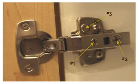 kitchen cabinet door hinge adjustment seven things your needs to about adjusting 7782