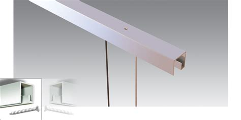Suspended Ceiling Rails by Estuff Picture Hanging P Rail Ceiling System