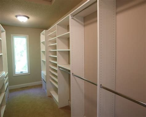 closets walk in closet narrow closet design