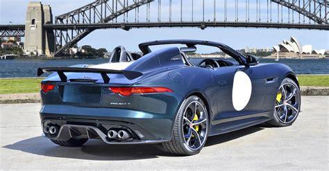 jaguar f type project 7 arrives in australia caradvice