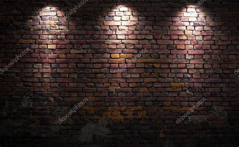 brick wall with lights stock 169 nomadsoul1 26580327