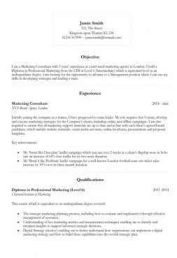 Basic Curriculum Vitae Template by 132 Cv Templates Free To In Microsoft Word Format