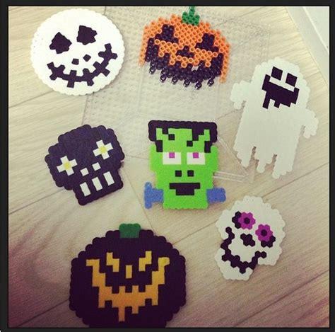 Halloween Perler Bead Projects perler perler bead patterns pinterest