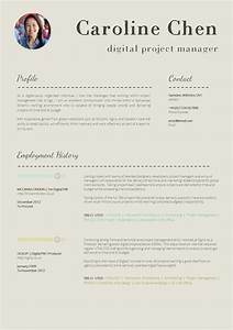 13 slick and highly professional cv templates for Reseume template