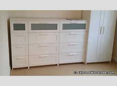 IKEA Brimnes 2 Door Wardrobe Design with Chest of Drawers