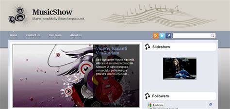10 Best New Free Music Blogger Templates
