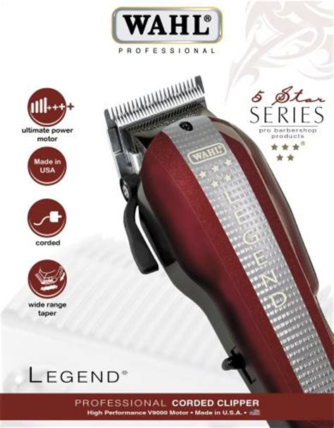 Wahl - Europe - Professional Hairdressing - 5 Star Series ...