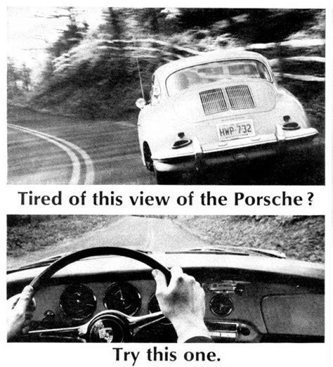 porsche ad poster page  pelican parts forums