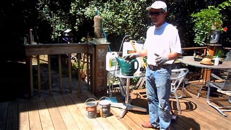 mold  mildew removal  deck finishing youtube