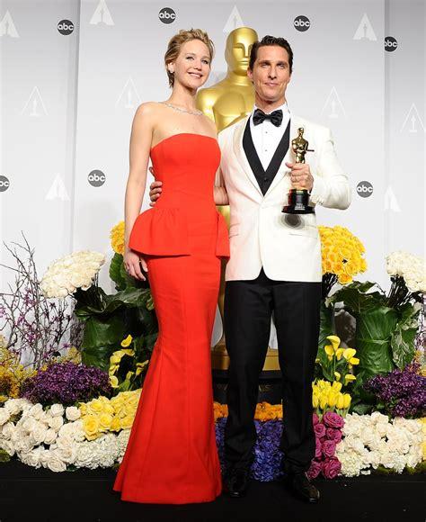 Jennifer Lawrence At The Oscars 2014 Popsugar Celebrity