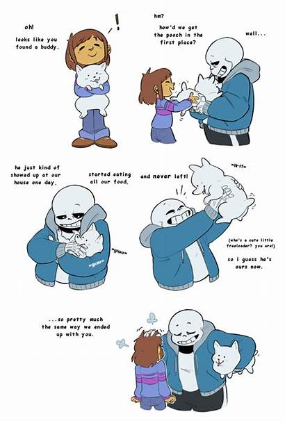 Sans Undertale Dad Comic Funny Silly Frisk