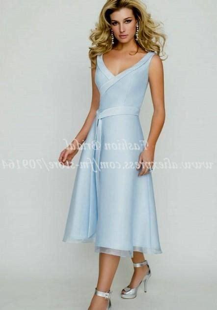 light blue tea length dress light blue wedding dress tea length 2016 2017 b2b fashion