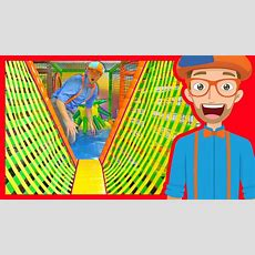 The Indoor Playground With Blippi  Learn Colors And More! Youtube
