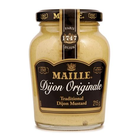 what is dijon mustard maille dijon mustard 215g woolworths co za