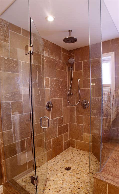 tiled showers tips  ideas  unique designs