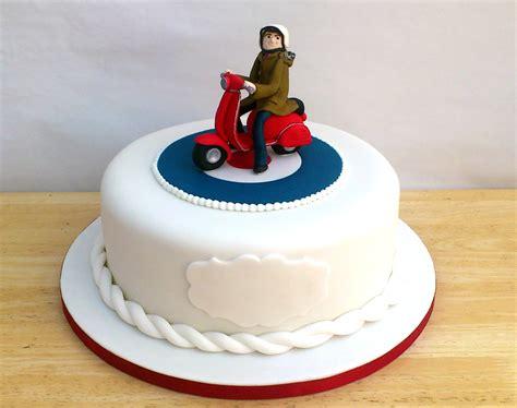 mod vespa theme birthday cake susies cakes
