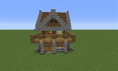 medieval rustic log cabin  grabcraft  number  source  minecraft buildings