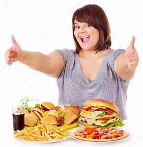Woman eating fast food. — Stock Photo © poznyakov #10526766