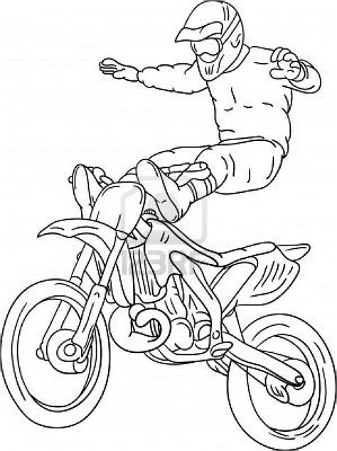 motocross freestyle coloring pages   absolutely cool