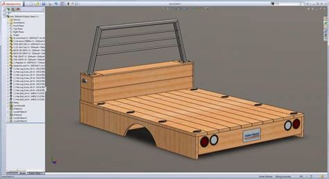 wooden truck bed wooden flatbed build info page 25 shows what it looks