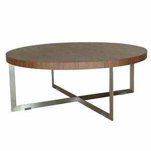 Modern oval coffee table peugennet for Best modern oval coffee table ideas