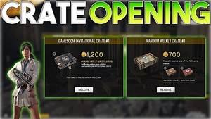 Battlegrounds GAMESCOM INVITATIONAL Crate Opening PUBG