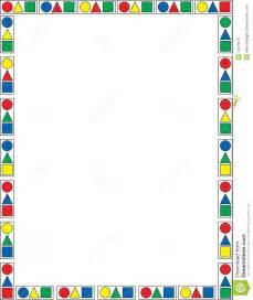 Geometric Shapes Clip Art Borders