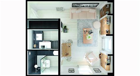 plan de cuisine 3d comment aménager un studio pièce par pièce