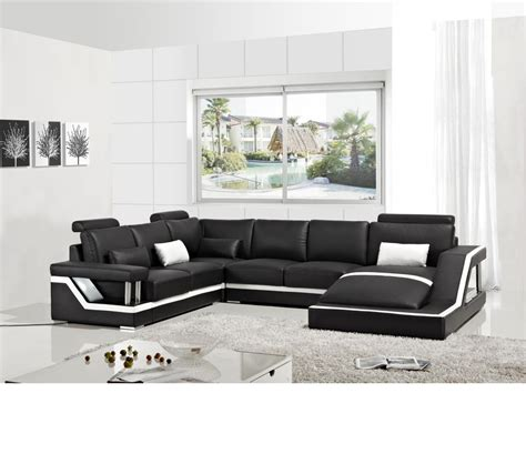 casa divani dreamfurniture divani casa t271 modern bonded