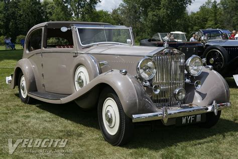 1937 Rolls Royce by 1937 Rolls Royce Phantom Iii By Barker Information