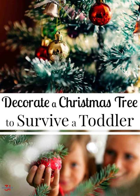 how to organize a christmas tree how to toddler proof a tree organized 31