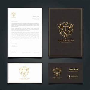 Personal Letterhead Format Elegant Business Stationery Vector Free Download