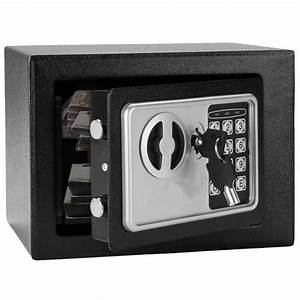 Fire Safe Box With Keypad  0 24cu Ft Digital Electronic