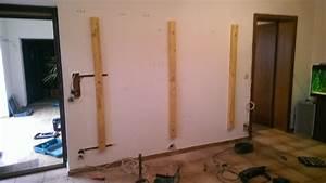 Wohnzimmer Wand Holz : tv wand selber bauen holz die neuesten ~ Lizthompson.info Haus und Dekorationen