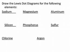Lewis Dot Diagram Argon