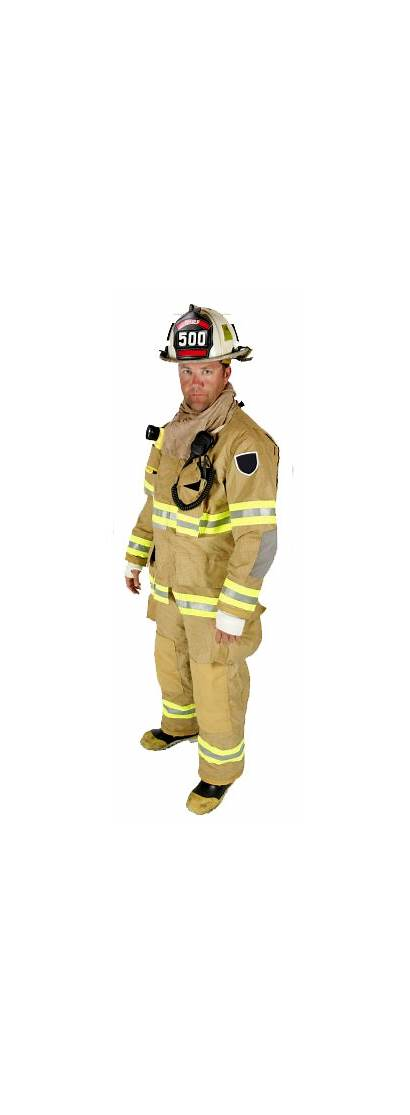 Firefighter Clothing Firefighters Fireman Transparent Parts Protection