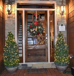 southern, accents, , christmas, trees, for, the, porch